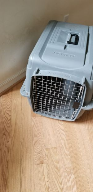 Dog crate soft and hard excellent condition with dog bed for Sale in Hillsborough, NC