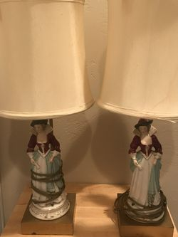 Antique Porcelain Lamps for Sale in Irwin,  PA