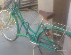 Small lime green cruiser bike for Sale in Boston, MA
