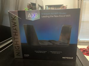 NETGEAR Nighthawk AX8 Wifi Router Model AX6000 for Sale in Orlando, FL