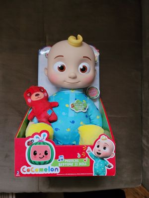 Cocomelon Musical Bedtime JJ Doll with Plush Tummy and Roto Head for Sale in Queens, NY