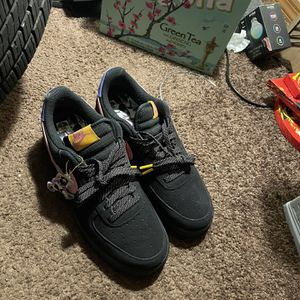 Black Forces With Nike Man Chain On Side Sz9 $75 for Sale in Oklahoma City, OK