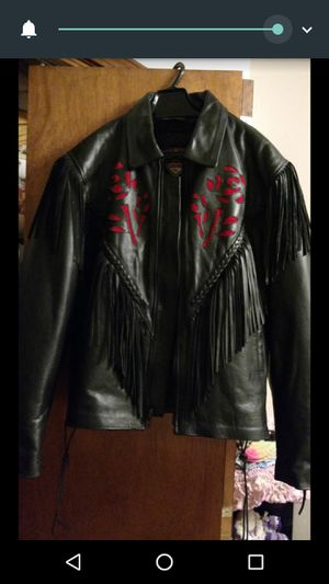 Leather riding jacket for Sale in Goodman, MO