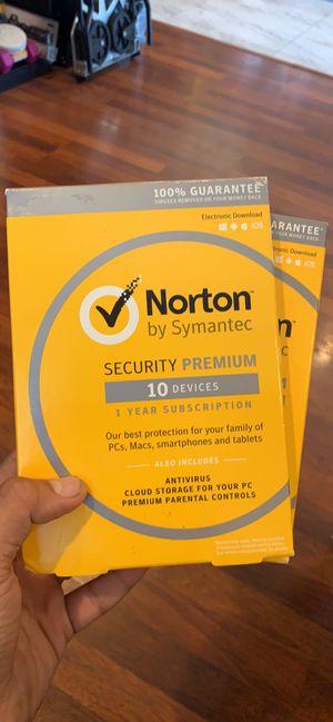 Norton Security Premium Antivirus for Sale in Garden Grove, CA