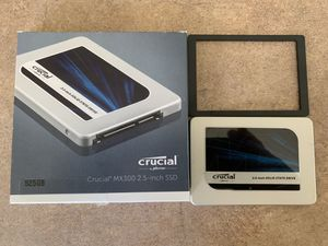 Crucial MX300 525GB SATA 2.5 Inch Internal Solid State Drive - CT525MX300SSD1 for Sale in Gibsonville, NC