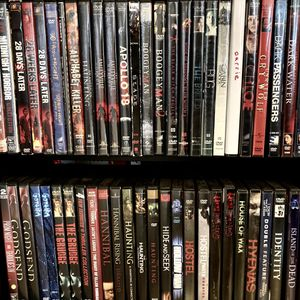 Horror Movie DVDs $2 for Sale in Scottsdale, AZ