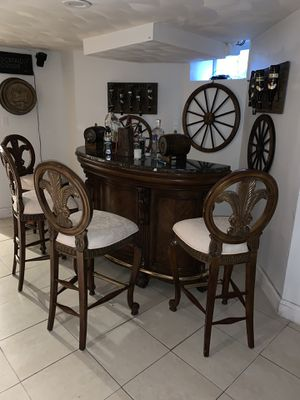 Bar and chair for Sale in Boston, MA
