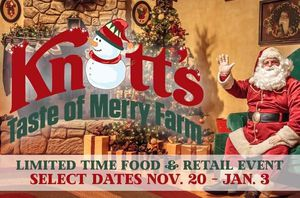 2 tickets Knott's Taste of Merry Farm🎄 ($50 each) ☃️ for Sale in Chino Hills, CA