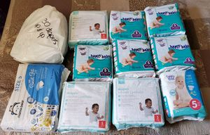 Baby diapers size 5 for Sale in Boston, MA