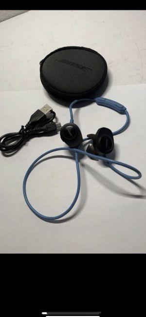 Genuine USED Bose SoundSport Wireless Neckband Wireless Headphones -Aqua $50 firm for Sale in Newport Beach, CA