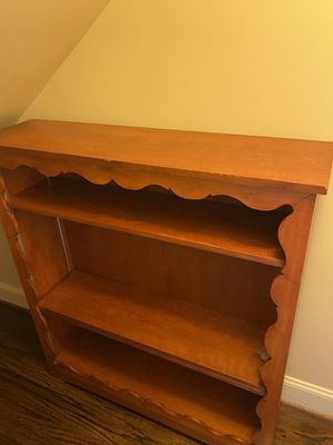 Antique Solid Wood Bookshelve for Sale in Houston, TX