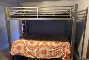 METAL BUNK BED SHOOT A GREAT OFFER ! for Sale in San Francisco, CA