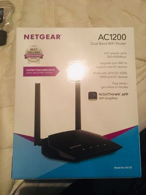 Like new router for Sale in Rogers City, MI
