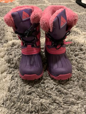 Toddler Girl Snow Boots for Sale in Lynnwood, WA