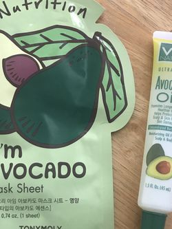 TonyMoly Avocado Face Mask And Via Natural Ultra Care Avocado Oil for Sale in Torrance,  CA