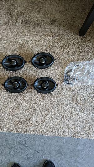 Polk Audio 4 - 5x7 speakers w/hardware for Sale in Mount Laurel Township, NJ