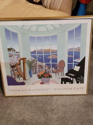 Thomas Mcknight Print Framed for Sale in Crofton, MD