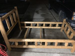 Log bed... Twin for Sale in Affton, MO