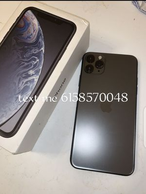 iPhone 11 pro max 64gb unlocked for Sale in Balfour, ND