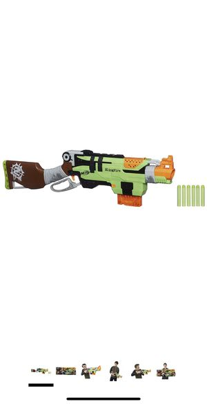 NERF Zombie Strike Slingfire Blaster Toy Gun for Sale in Miami, FL
