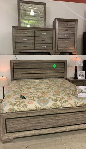 🆕️ Best  OFFER   🍻🍾 Farrow Grayish Brown Panel Bedroom Set 799 for Sale in Jessup, MD