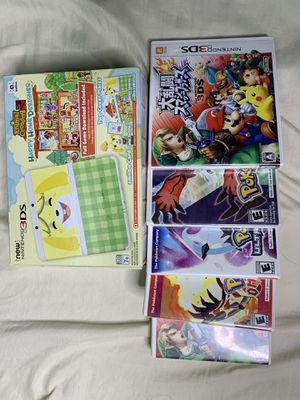 NEW NINTENDO 3DS JAPANESE VERSION WITH EMPTY GAME CASES FOR FREE for Sale in Los Angeles, CA