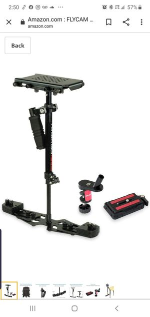 Fly cam stabilizer for dslr for Sale in Minneapolis, MN