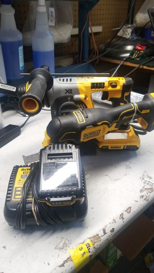 Dewalt dch273 & dcs354 rotary hammer drill 20v for Sale in Jacksonville, FL