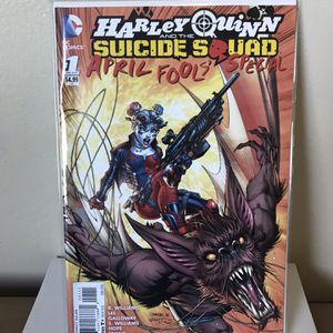 DC Comic Book: Harley Quinn & The Suicide Squad Annual #1 April Fools for Sale in San Pablo, CA