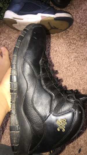 Jordan NCY 10s size 10.5 perfect condition worn only few times for Sale in Ashburn, VA