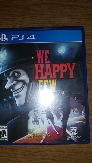 We Happy Few PS4 for Sale in Fairview Park, OH