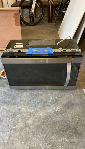 Whirlpool Over Range Microwave for Sale in Newcastle, WA