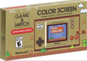Game and Watch Super Mario Bros Nintendo Color Screen Console for Sale in Fresno, CA