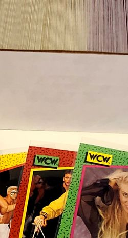 1991 Imperial WCW Complete Set - All 162 Cards Sleeved for Sale in Olympia,  WA