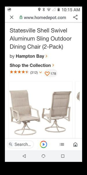 Price is for all four swivel patio chairs for Sale in Moreno Valley, CA