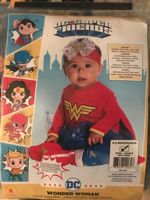 Wonderwoman costume baby for Sale in The Bronx, NY