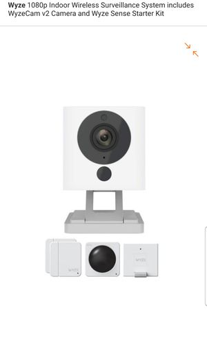 Wyze indoor wireless security camera starter kit for Sale in Tampa, FL