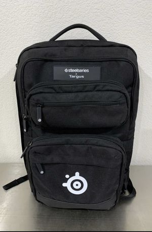 Targus Steelseries Gaming Backpack for 17-Inch Laptop, Gear Storage for Controllers, Headsets, Mice, Keyboard & Accessories, Black (TSB941BT) for Sale in Las Vegas, NV
