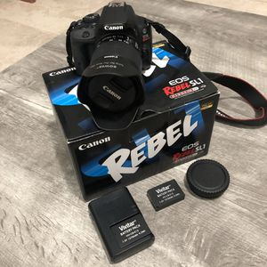 Canon EOS Rebel SL1 Digital SLR with 18-55mm STM Lens for Sale in Cape Coral, FL