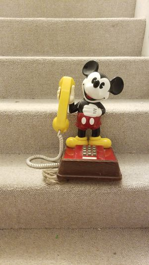 COLLECTIBLE MICKEY MOUSE TELEPHONE for Sale in Wheeling, IL