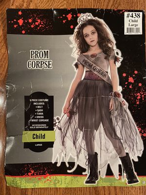 Halloween Prom Corpse costume Kids Large for Sale in Bowie, MD