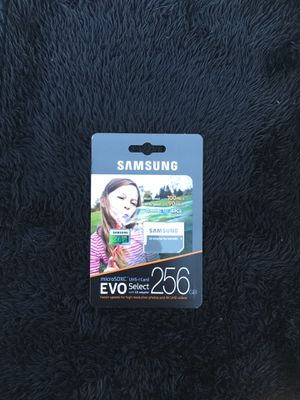 Samsung micro sd card 256gb for Sale in Eatontown, NJ
