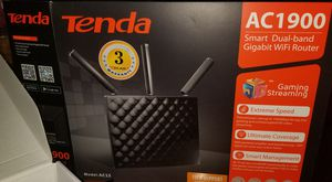 TENDA AC1900 Wifi Router Smart Dual Band barely used for Sale in Frisco, TX