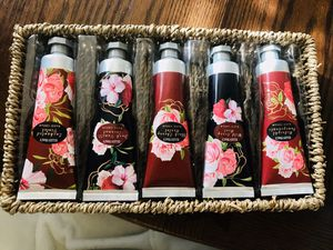 Ellen Tracy Hand Cream 5Pc Set of Fragrances ~ New for Sale in San Antonio, TX