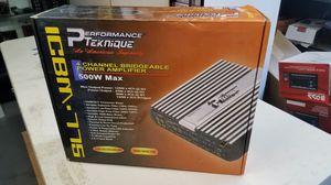 Performance Teknique 500w amplifier for Sale in San Bernardino, CA