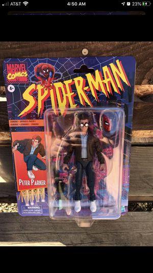 Marvel Legends spider man Peter Parker (trade) for Sale in Bloomington, CA