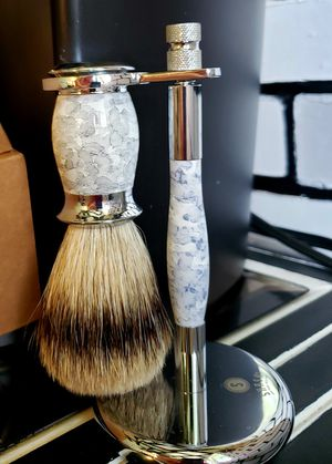 Shaving brush with stand for Sale in Williamston, SC