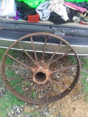Vintage Wagon Wheel for Sale in Loganville, GA