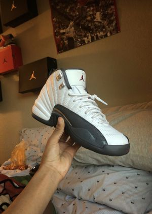 Jordan 12 Dark Grey Size 6.5 GS for Sale in Sacramento, CA