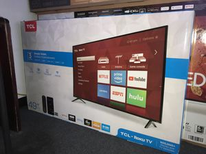 49 TcL roku smart 4k led uhd hdr Tv for Sale in Fontana, CA